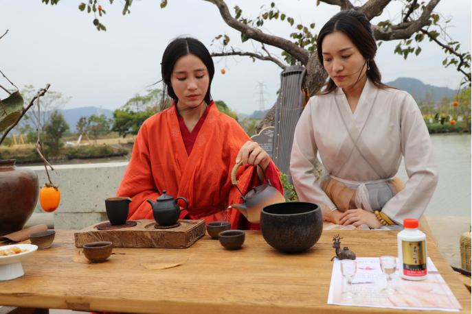 裕貢酒助力全國美麗鄉村茶席設計大賽